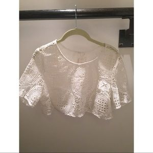 Free People Sample Style Crop Top